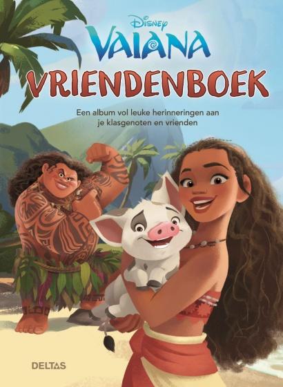 Disney vriendenboek Vaiana 22 x 16 cm