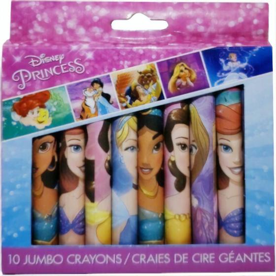 Disney prinsessen jumbo waskrijtmet deze prinsessen waskrijtjes maak je de mooiste tekeningen. met de heldere ...