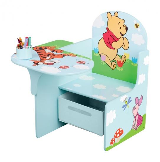 Disney Winnie the Pooh Bureau 45 x 57 x 58 cm lichtblauw