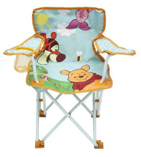 Disney Winnie the Pooh Campingstoel 51 x 32,5 x 52 cm blauw