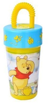 Disney Winnie the Pooh drinkbeker 250 ml geel/blauw