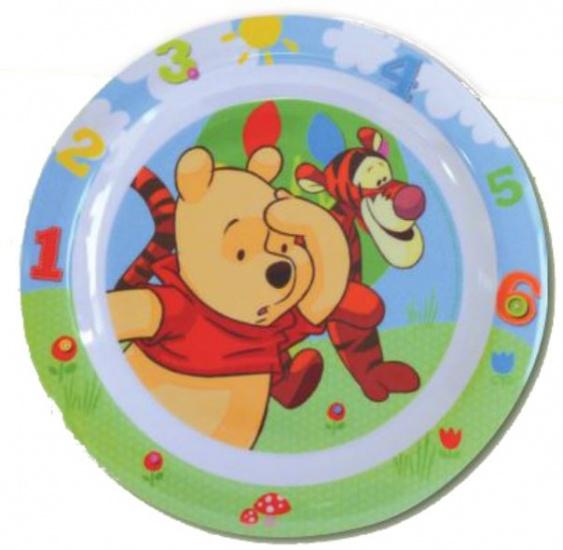 Disney Winnie the Pooh en Teigetje bord 22 cm