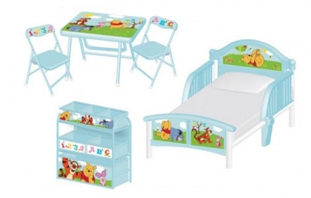 Disney Winnie the Pooh Slaapkamer Set 5 delig