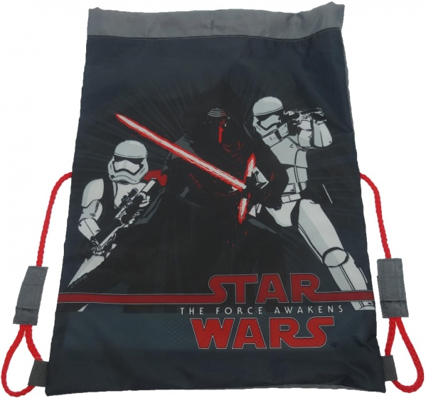Disney Gymtas Star Wars the Force Awakens 44 x 37 cm zwart