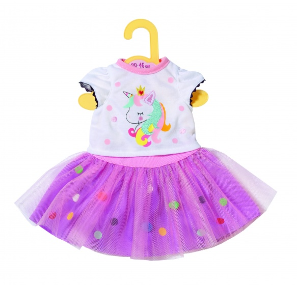 Zapf Creation® poppenkleding 'Dolly Moda shirt met tutu 39-46 cm'