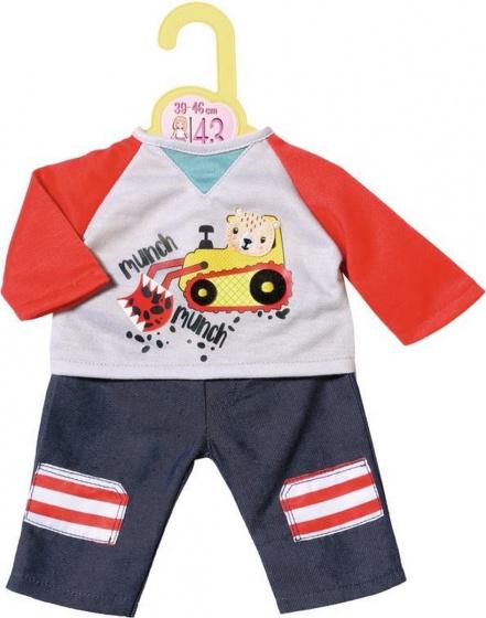 Zapf Creation® poppenkleding 'Dolly Moda broek met sweatshirt 39-46 cm'