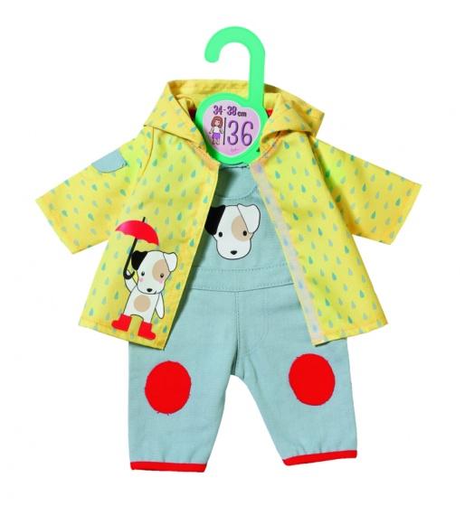Zapf Creation® poppenkleding 'Dolly Moda tuinbroek met regenjack 39-46 cm'