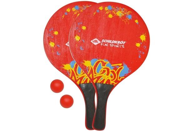 Donic Schildkröt beachballset XL rood