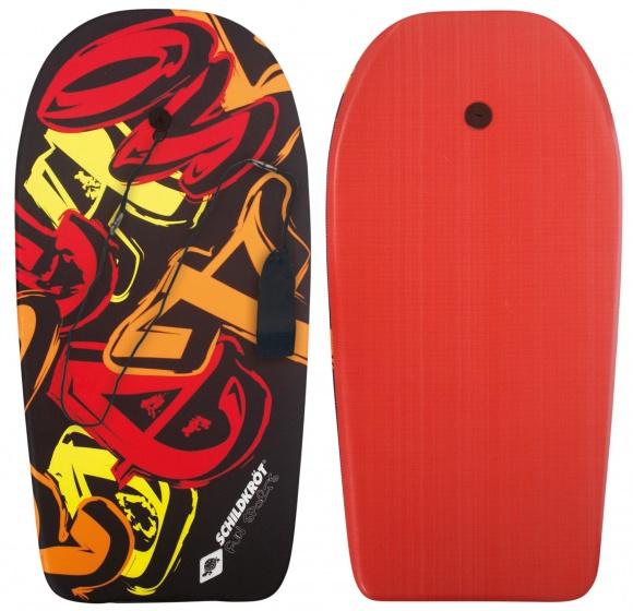 Donic Schildkr�t bodyboard zwart/rood 93 x 46 cm