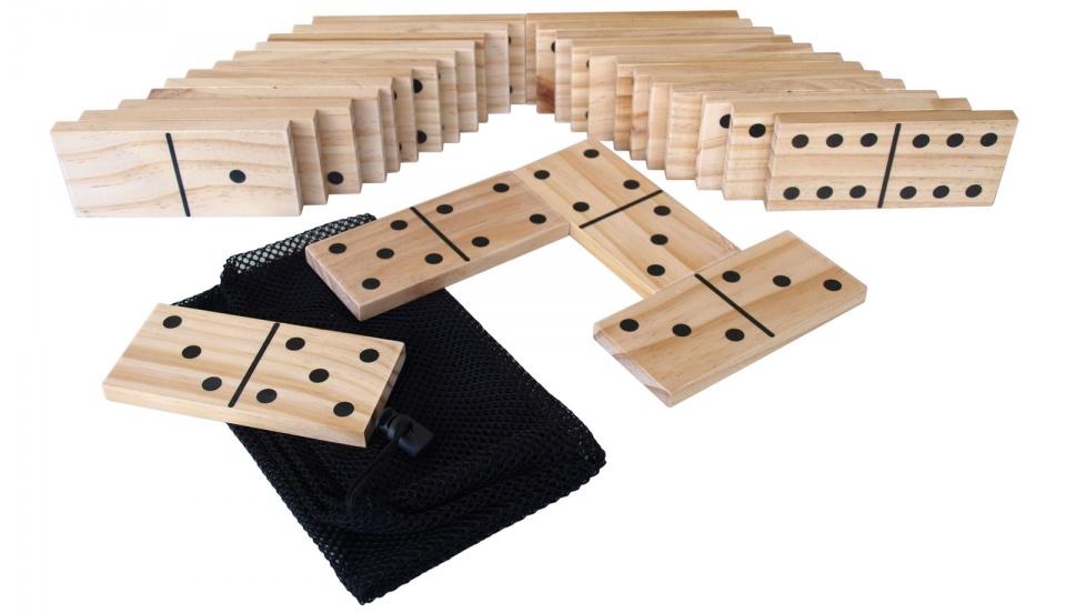 Donic Schildkröt buitenspel Domino 28 stenen 13 cm