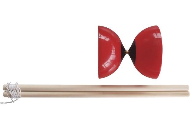 Donic Schildkröt diabolo 10 cm rood