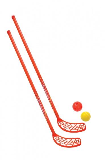 Donic Schildkröt hockeyset 4 delig 110 cm rood kopen