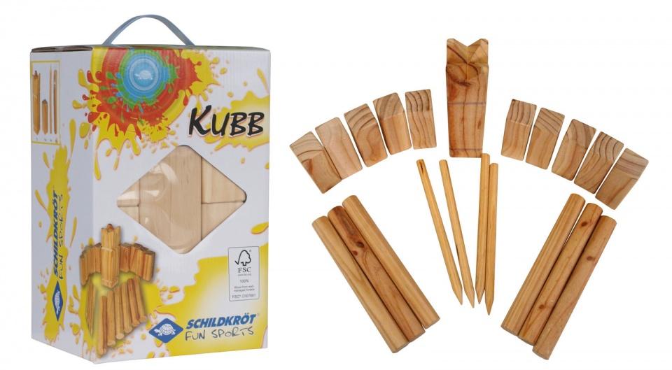 Donic Schildkröt houten buitenspel Kubb
