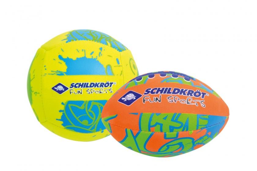 Donic Schildkröt sportballenset geel-oranje 2 stuks