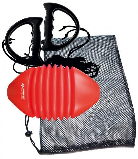 Donic Schildkröt trekbal 19 x 12 cm rood