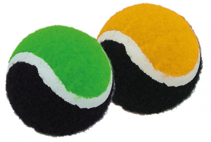 Donic Schildkröt vangspelballen 2 stuks oranje/groen kopen