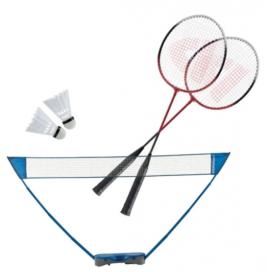 Donnay badmintonset 300 x 155 cm 6 delig