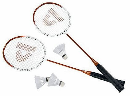 Donnay Badmintonset HTF staal oranje per set