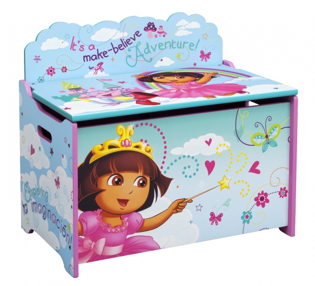 Nickelodeon Dora speelgoed opbergkist 60 x 28 x 25 cm