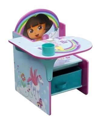 Nickelodeon Dora stoel met bureau 45 x 57 x 58 cm