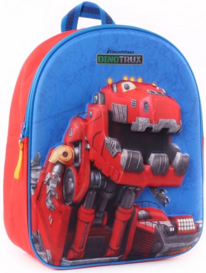 Dreamworks rugzak Dinotrux 3D jongens 25 x 31 x10 cm rood