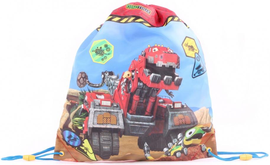 Dreamworks Gymtas Dinotrux jongens 44 x 37 cm rood