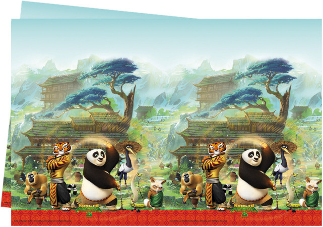 Dreamworks tafelkleed Kung Fu Panda junior 180 x 120 cm