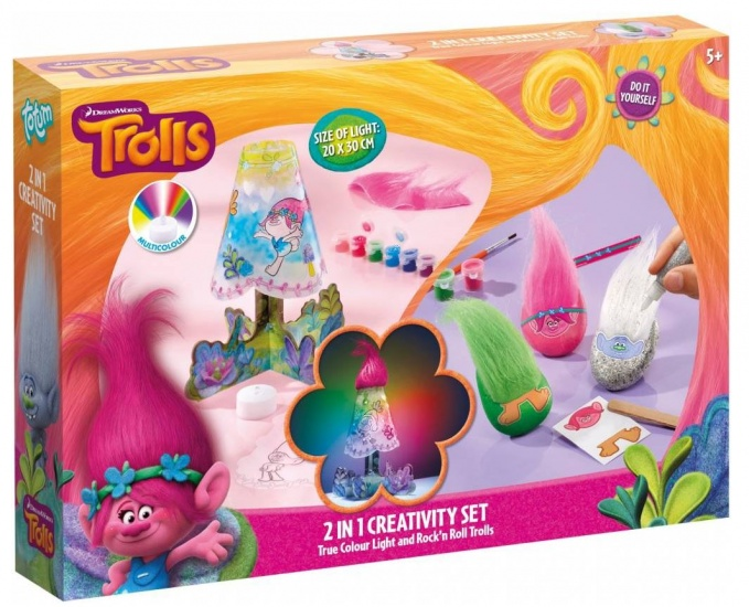 Dreamworks Trolls Creativity Set ToTum 2 in 1