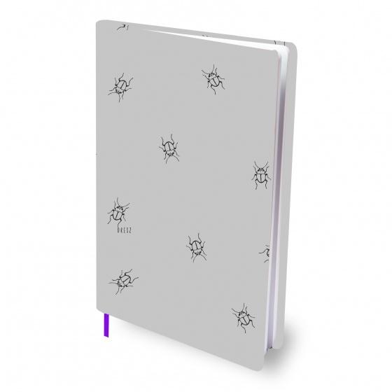 Dresz elastische boekenkaft A4 Beetle textiel/elastaan