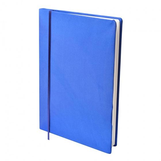Dresz elastische boekenkaft A4 textiel/elastaan blauw