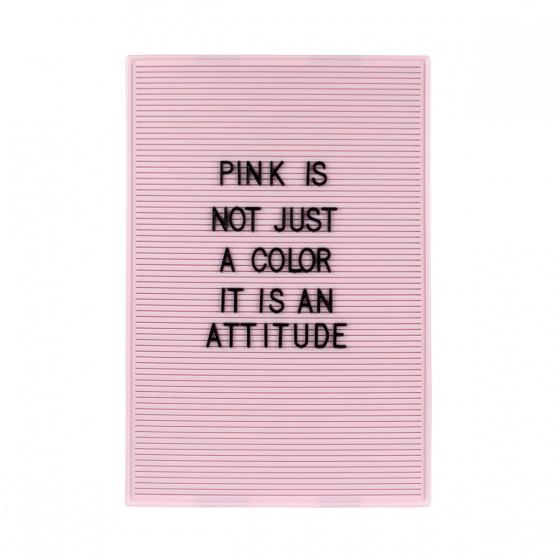 Dresz letterbord 31 x 46 cm roze kopen