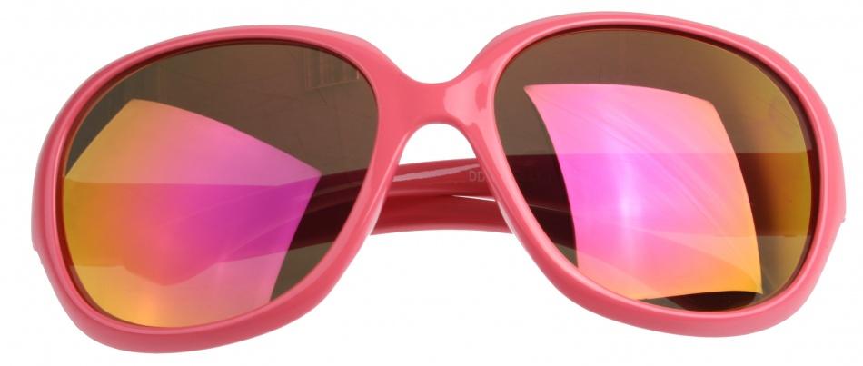 Dudes & Dudettes Zonnebril DD6123 meisjes 13 cm roze