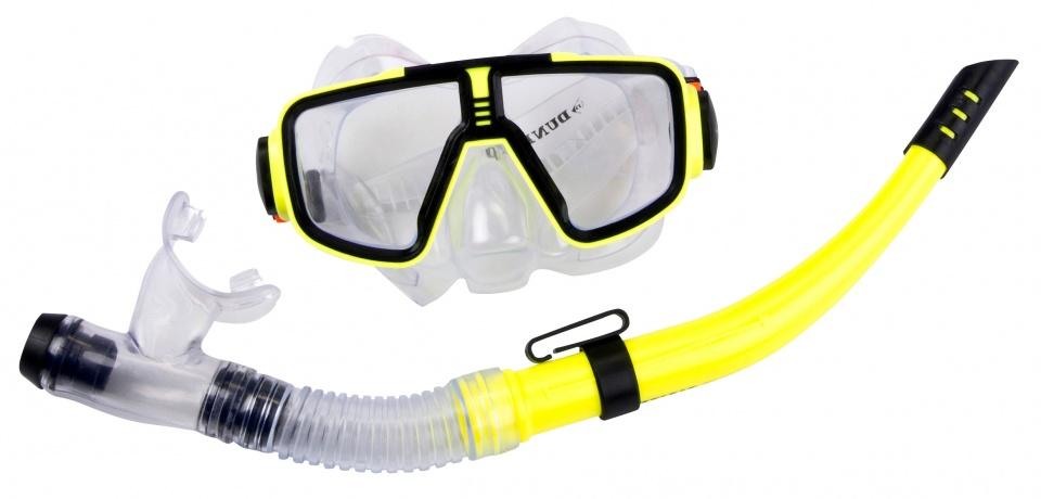 Dunlop snorkelset junior geel 2 delig