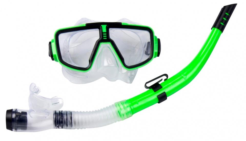 Dunlop snorkelset junior groen 2 delig