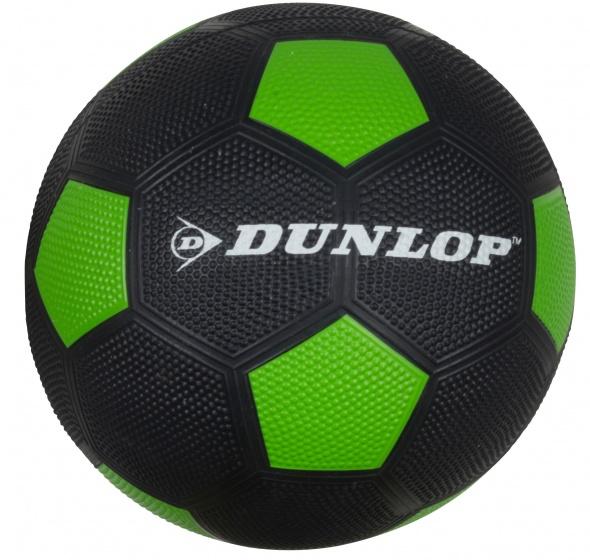 Dunlop Voetbal maat 5 zwart/groen