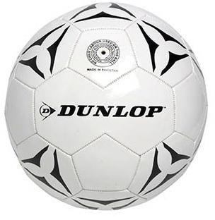 Dunlop voetbal met pomp wit