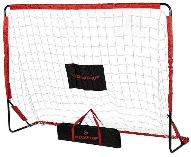 Dunlop Voetbaldoel 200 x 148 x 60 cm rood/zwart