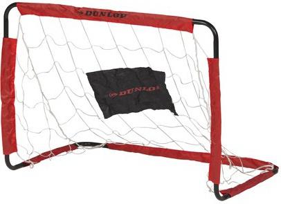 Dunlop Set voetbaldoelen 78 x 56 x 45 cm zwart/rood