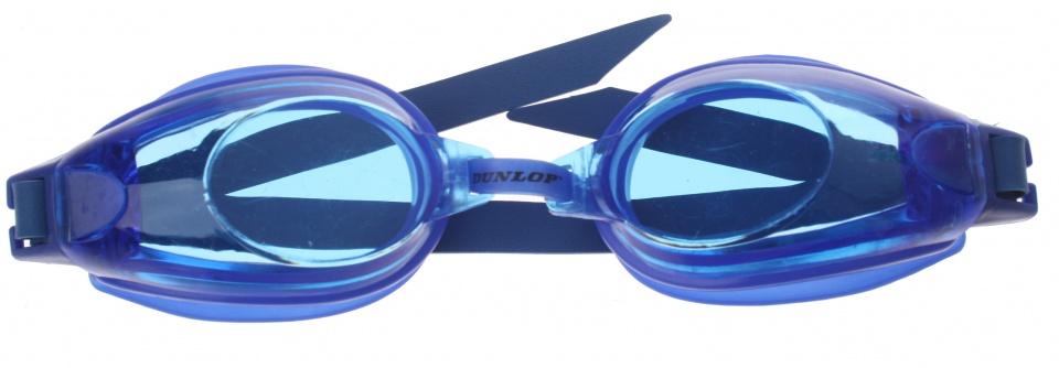 Dunlop zwembril unisex blauw