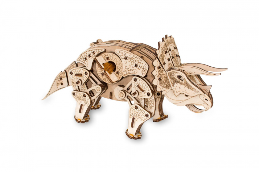 Eco Wood Art Triceratops Houten Modelbouw