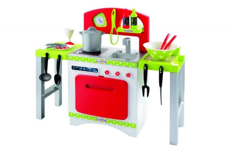 écoiffier 100% Chef: speelgoedkeuken 40 x 44 x 54 cm