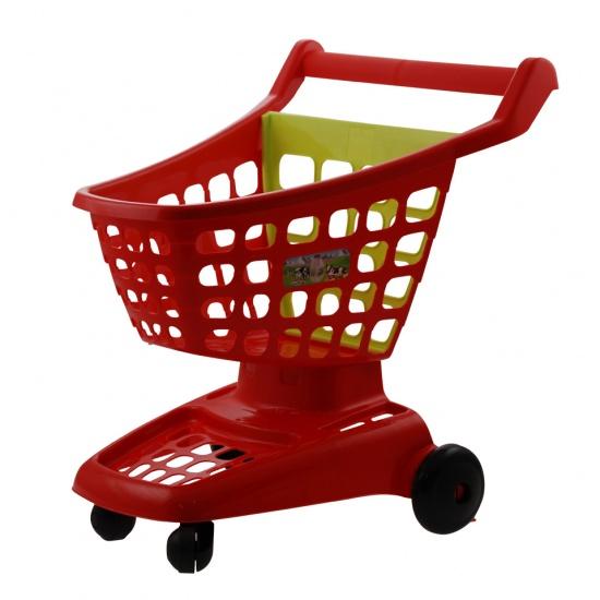 écoiffier 100% Chef: winkelwagen rood 42 x 36 x 45 cm