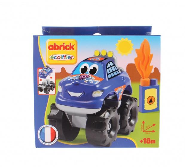 écoiffier Abrick bouwpakket auto 10 cm blauw