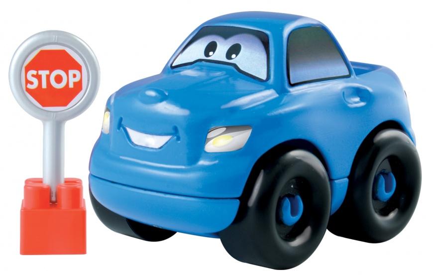 écoiffier Abrick bouwpakket auto blauw 8 delig