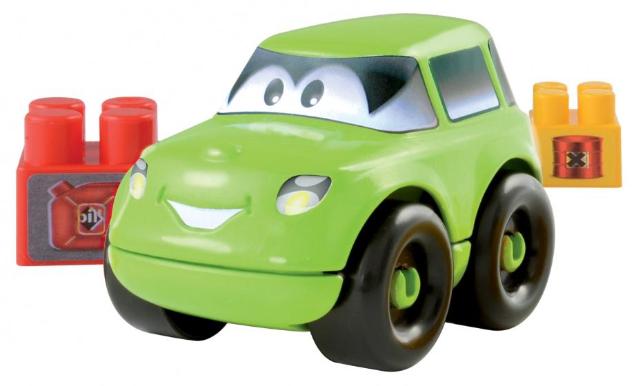 écoiffier Abrick bouwpakket auto groen 8 delig