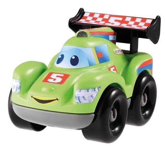 écoiffier Abrick bouwpakket raceauto groen 7 delig