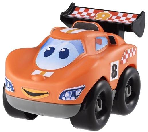 écoiffier Abrick bouwpakket raceauto oranje 7 delig
