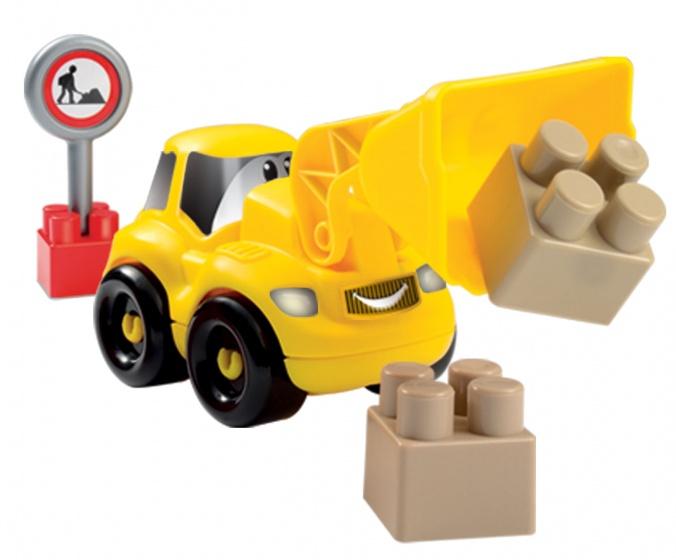écoiffier Abrick bouwpakket shovel 12 delig