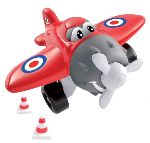 écoiffier Abrick bouwpakket vliegtuig rood 8 delig
