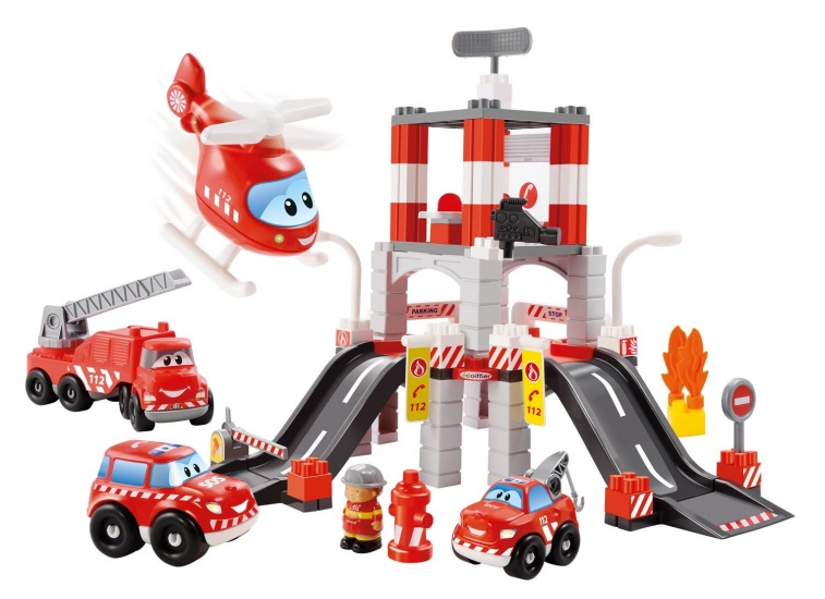 écoiffier Abrick: brandweerkazerne